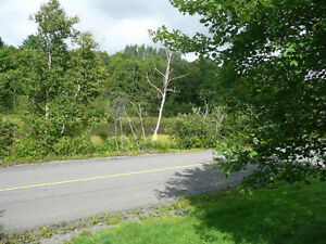 3/4 ACRE ON JIMTOWN ROAD - 10 MINUTES FROM ANTIGONISH