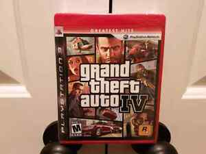 Grand Theft Auto 4 greatest hits sealed!