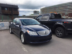 2010 Buick LaCrosse CX Berline