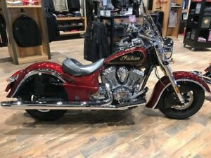 2017 Indian Motorcycle Chief Classic Burgundy Metallic Over Thun