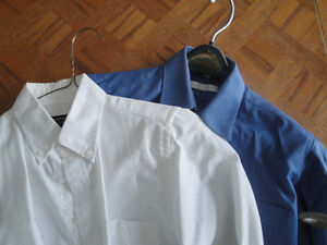 BOY'S DRESS SHIRTS AND TIES - SIZE 10 and 12