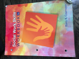 1st and 2nd year mandatory Social Service Worker textbooks!!!
