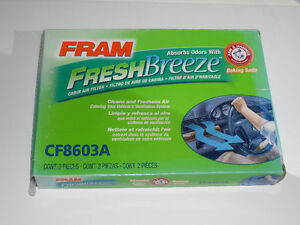 FRAM FreshBreeze Cabin Air Filter CF8603A for Honda Accord 98-02