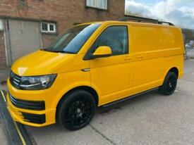 2016 Volkswagen Transporter T6 TDI 150 6 SPEED STARTLINE SWB IN YELLOW WITH TAIL