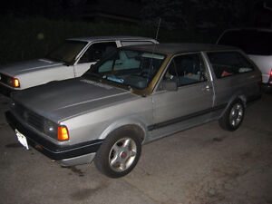 1988 Volkswagen Rabbit Fox Wagon Wagon