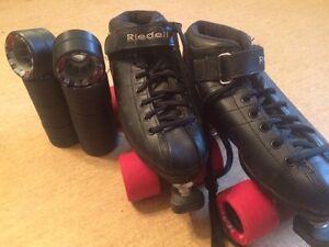 Riedell derby skates