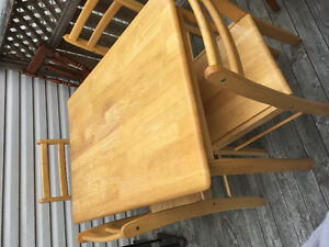 Small table with 4 chairs