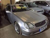 2001 Mercedes Benz SLK SLK 200K 2dr 2 door Convertible