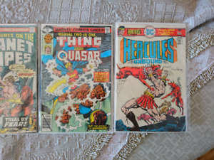 Marvel - DC 1970's Old comic books vielle bandes dessinés