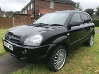 2007 Hyundai Tucson 2.0CRTD ( 4WD ) Limited Edition Xenith stunning may part ex