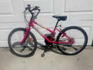 $55 Red Triumph Laser Kids Bike