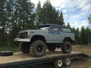 Built 1982 Ford Bronco