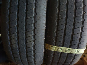 Pairs of R18 all season tires
