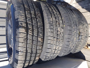 4  Michelin 195/70R14 Defender XT Like New