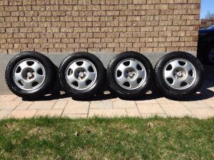 17 Inch Bridgestone Blizzak Winter Tires WS 70 with Rims