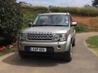Land Rover Discovery 4 3.0SDV6 auto Commercial 2011 77950 miles FSH Ipanema Sand