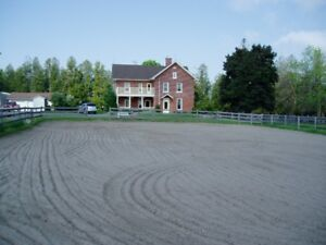 8 Acre Hobby  Farm with Century Home and Guest house Coming Soon