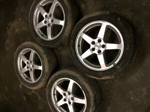 225/50r17 Pontiac G6 tires&rims