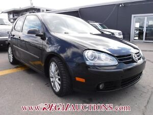 2009 VOLKSWAGEN RABBIT  2D HATCHBACK