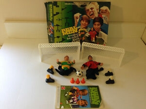 REAL MEN ACTION FIGURES SOCCER OLD MATTEL TOYS WITH BOX COMPLETE