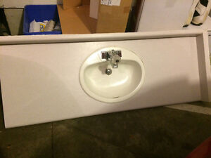 Counter sink and tap