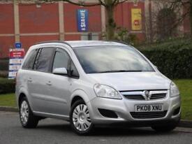 7 SEATER Vauxhall Zafira 2008 1.6 16v +CAMBELT DONE + JUST SERVICED +WARRANTY