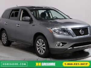 2015 Nissan Pathfinder S 4WD 7 PASSAGERS