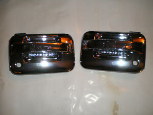 CHROME  04-08 FORD Pickup FRONT OUTER DOOR HANDLE SET London Ontario image 1