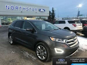 2015 Ford Edge Titanium  - Leather Seats -  Bluetooth - $244.97