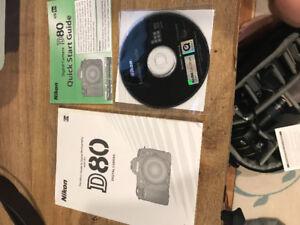 Nikon D80 (body only)