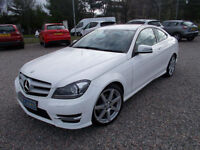 14-64 Mercedes-Benz C220 2.1CDI ( 170ps ) 7G-Tronic Plus 2014.5MY AMG Sport