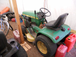 1988 John Deere Tractor with attachments