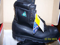 Work / safety / steel toe boots size 7