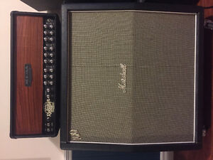 Mesa Boogie Dual Rectifier and Marshall handwired 4x12