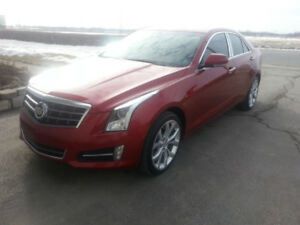 2014 cadillac ats turbo performance 25300klm exceptionnelle