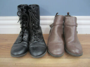 GIRLS BOOTS - SIZE 4 1/2 & SIZE 3 - $10.00 EACH