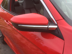 Moulures pour miroirs Honda