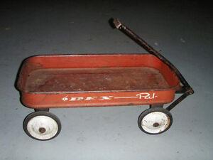 Radio Rex Pal Coaster Red Wagon