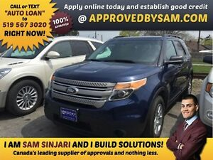 "EXPLORER - TEXT ""AUTO LOAN"" TO 519 567 3020 GUARANTEED CREDIT"
