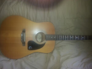 Trade/Sell - Epiphone Pr 200 acoustic guitar 200$