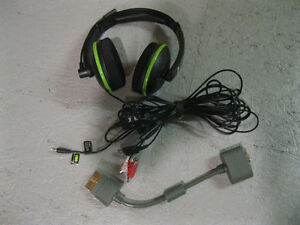 Turtle Beach XL1 for XBox 360 with Adaptor
