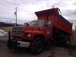 Camion Dompeur Ford 800