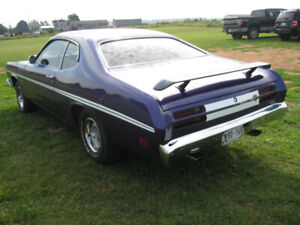 BC. car     1970 340 duster new build.
