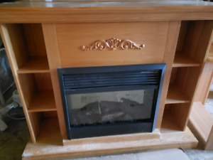 2 Matching Fireplaces
