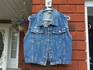 Female Youth Jean Vest