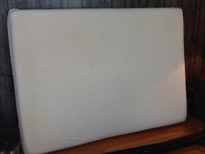 Double box spring and mattress,