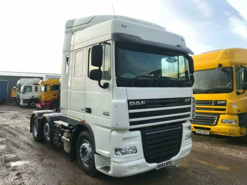 DAF XF 105 460 6x2 MID LIFT TRACTOR UNIT ULEZ COMPLIANT | in Wrexham |  Gumtree