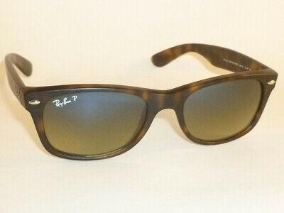 Ray Ban  NEW WAYFARER  Sunglasses  RB 2132 894/76  Polarized Blue Green  52mm   (Rb2132 894 76)
