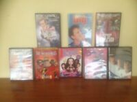 DVD's set of 8