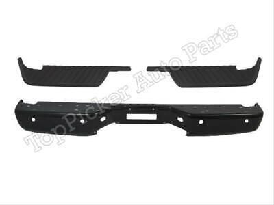 For 04-14 Titan Rear Step Bumper Black Face Bar Top Pad W/Sensor Hole NI1196100